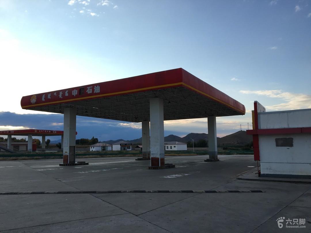 北京至阿尔山国庆自驾游加油站摆设加不了油