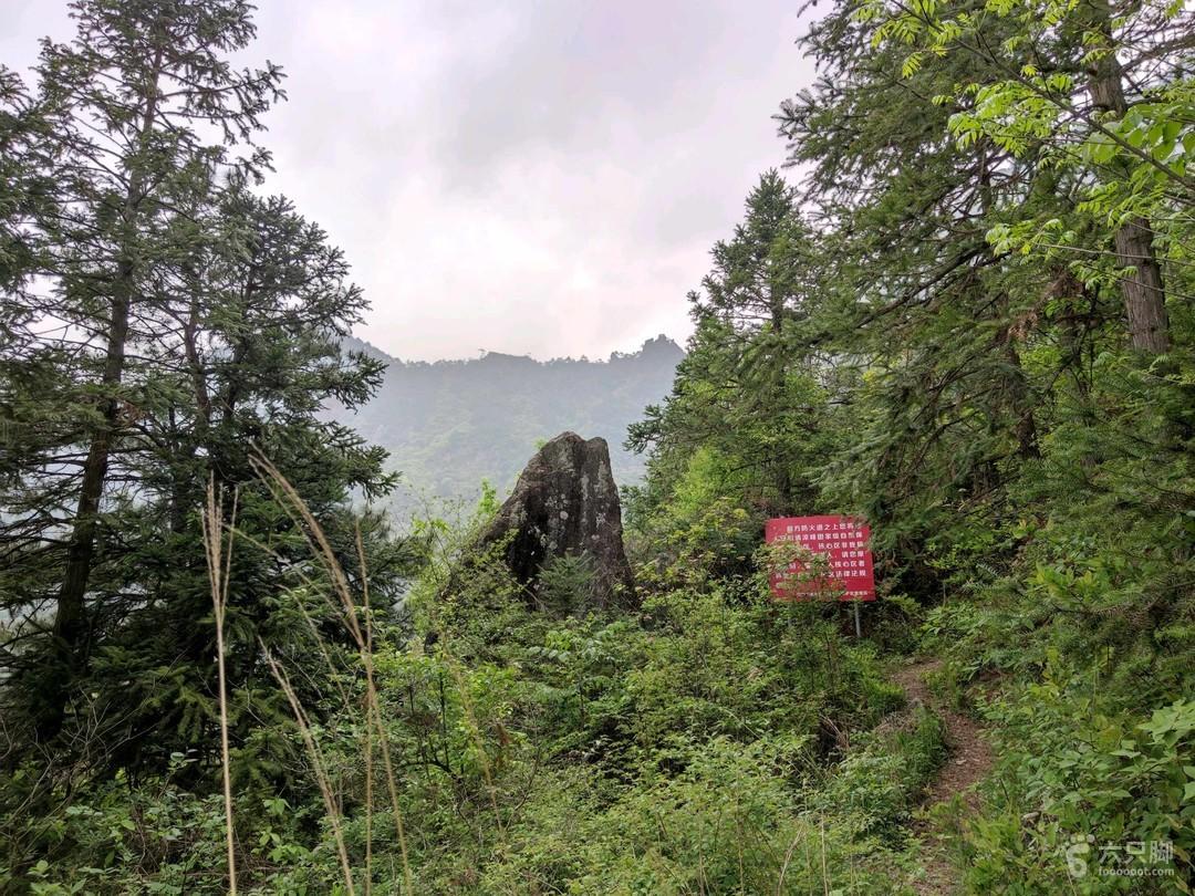 清凉峰南山脊 05022