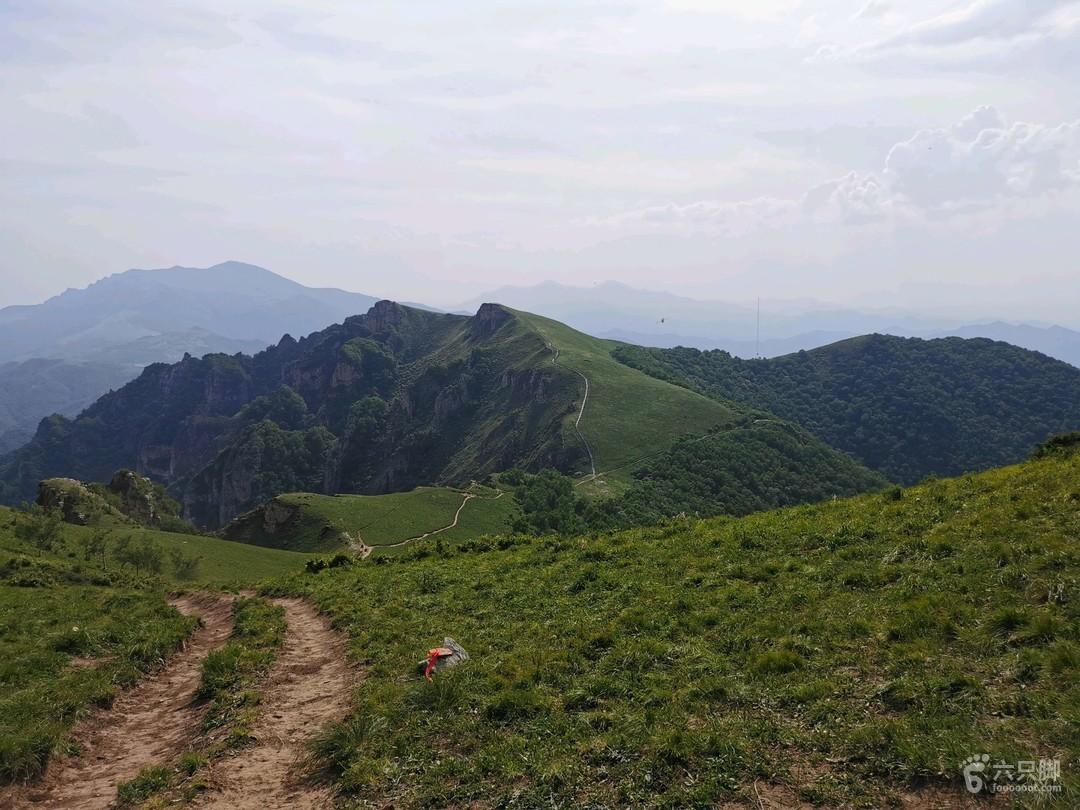 兩靈環穿2020-06-07登山 北京之巔.東靈山-北靈2