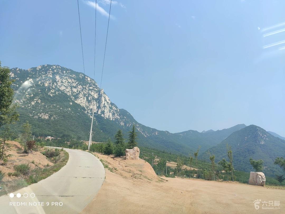 嵩山高坡村挡阳山来仙峰环线左上三仙庙